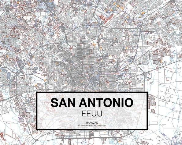 San-Antonio-EEUU-01-Mapacad-download-map-cad-dwg-dxf-autocad-free-2d-3d