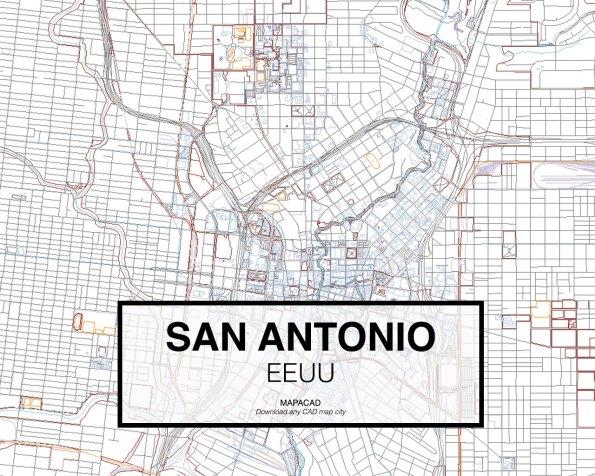 San-Antonio-EEUU-02-Mapacad-download-map-cad-dwg-dxf-autocad-free-2d-3d