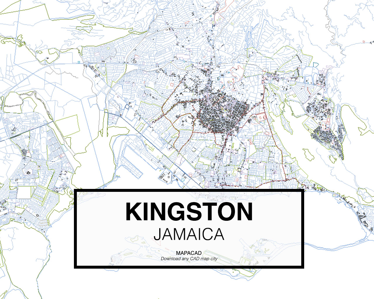 Download kingston dwg mapacad kingston jamaica 01 mapacad download map cad dwg gumiabroncs Gallery