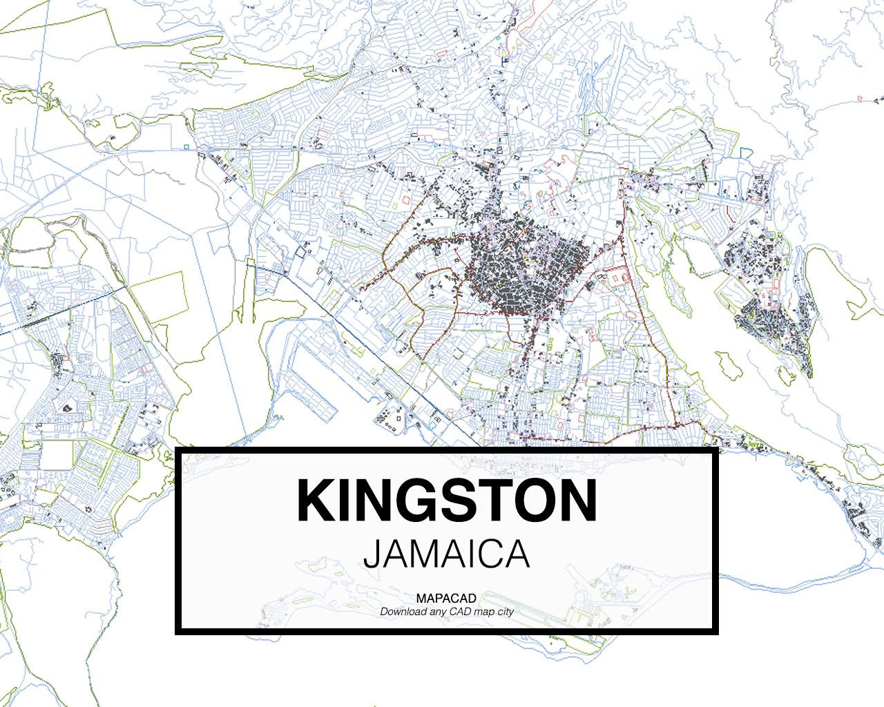 Download kingstondwg mapacad kingston jamaica 01 mapacad download map cad dwg gumiabroncs Choice Image