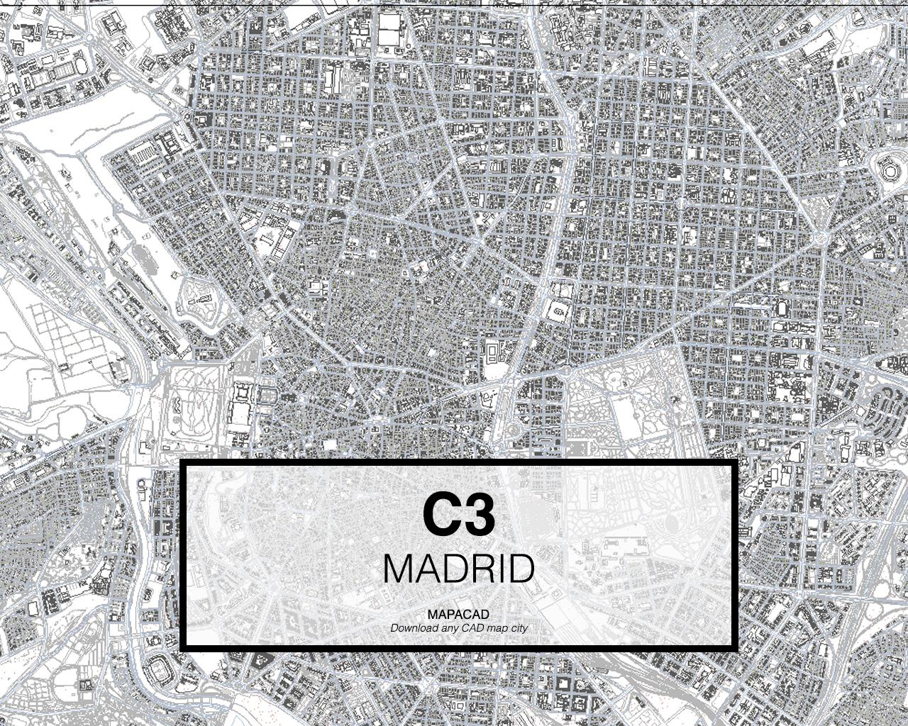 Madrid dwg mapacad for Bajar autocad