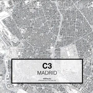 c3-01-madrid-cartografia-dwg-autocad-descargar-dxf-gratis-cartografia-arquitectura