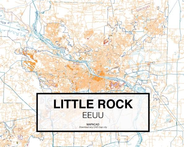 Little-Rock-EEUU-01-Mapacad-download-map-cad-dwg-dxf-autocad-free-2d-3d
