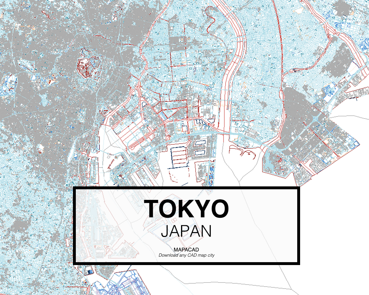 Download any cad map city mapacad tokyo japan 01 mapacad download map cad dwg gumiabroncs Choice Image