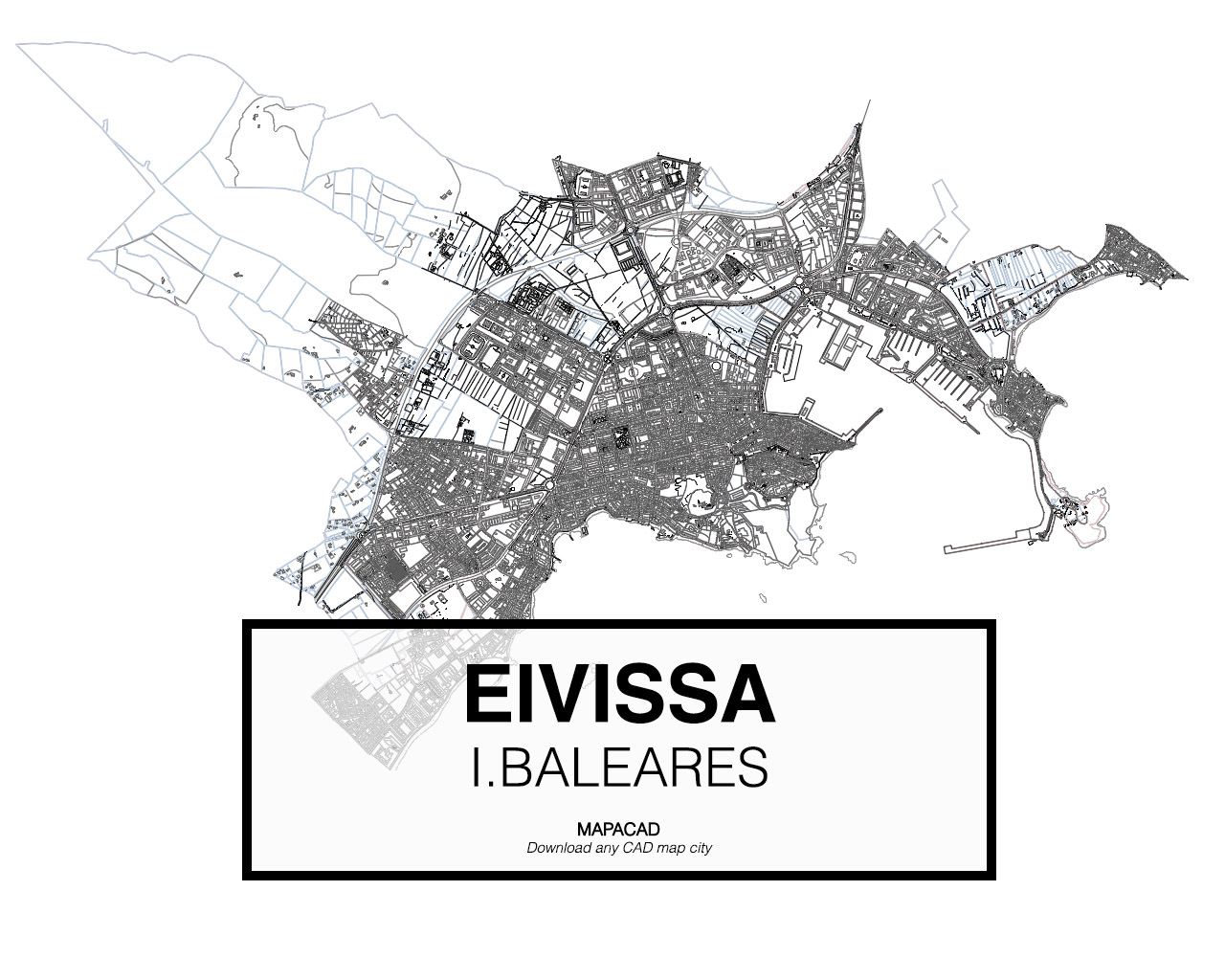 Eivissa dwg mapacad eivissa baleares 01 mapacad download map cad dwg gumiabroncs Gallery