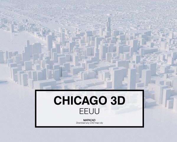 Chicago-02-3D-model-download-printer-architecture-free-city-buildings-OBJ-vr-mapacad