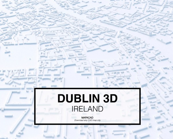 Dublin-04-3D-model-download-printer-architecture-free-city-buildings-OBJ-vr-mapacad