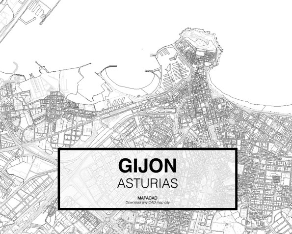 Gijon-Asturias-02-Mapacad-download-map-cad-dwg-dxf-autocad-free-2d-3d