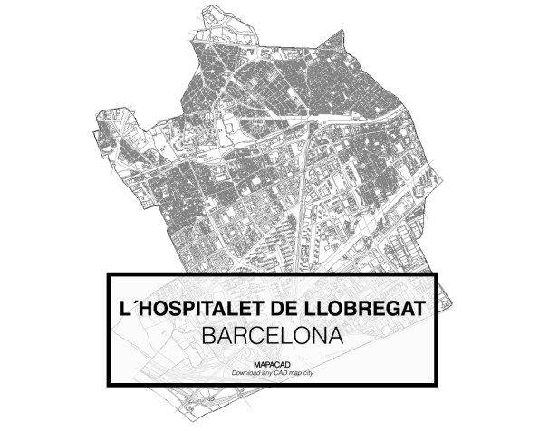 Hospitalet de LLobregat-Barcelona-01-Mapacad-download-map-cad-dwg-dxf-autocad-free-2d-3d