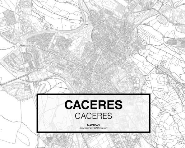 Caceres-Extremadura-02-Mapacad-download-map-cad-dwg-dxf-autocad-free-2d-3d