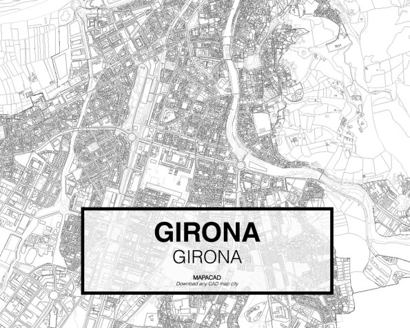 Girona-Cataluña-02-Mapacad-download-map-cad-dwg-dxf-autocad-free-2d-3d