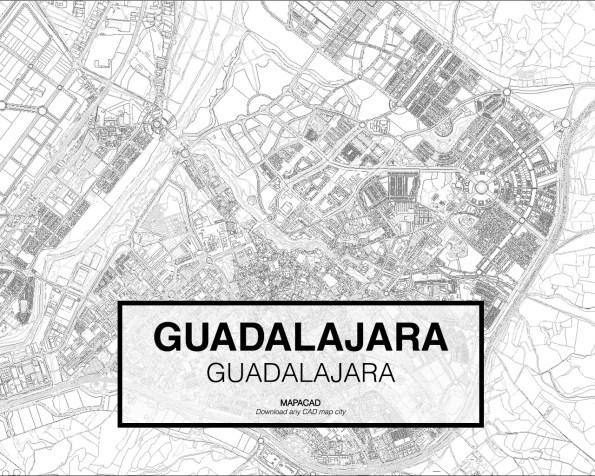 Guadalajara-Castilla-02-Mapacad-download-map-cad-dwg-dxf-autocad-free-2d-3d