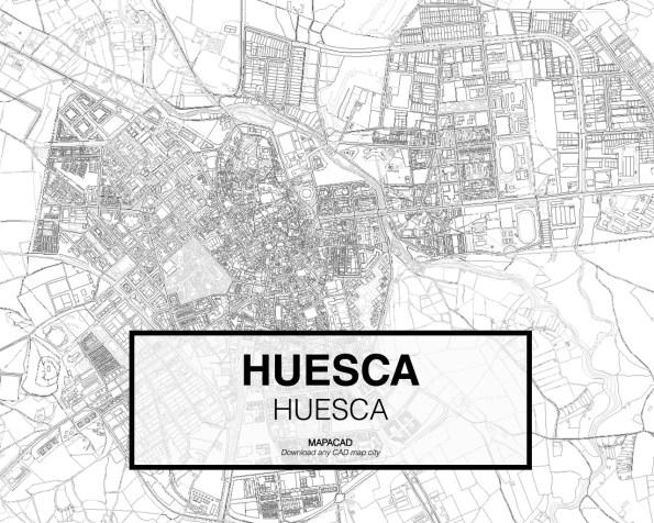 Huesca-Aragon-02-Mapacad-download-map-cad-dwg-dxf-autocad-free-2d-3d