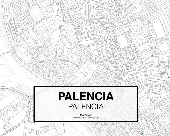 Palencia-Castilla Leon-03-Mapacad-download-map-cad-dwg-dxf-autocad-free-2d-3d