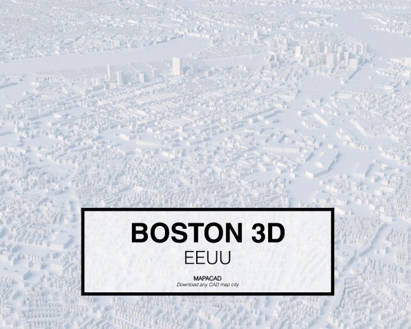 Boston-EEUU-02-3D-Mapacad-download-map-cad-dwg-dxf-autocad-free-2d