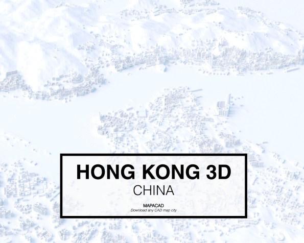 Hong Kong-China-01-3D-Mapacad-download-map-cad-dwg-dxf-autocad-free-printer