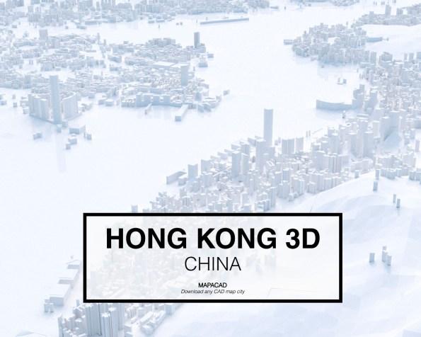 Hong Kong-China-02-3D-Mapacad-download-map-cad-dwg-dxf-autocad-free-printer