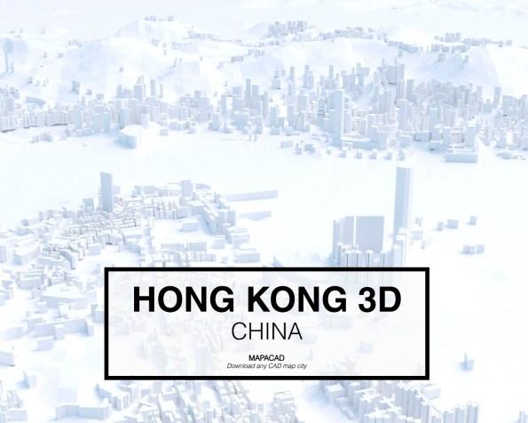 Hong Kong-China-03-3D-Mapacad-download-map-cad-dwg-dxf-autocad-free-printer