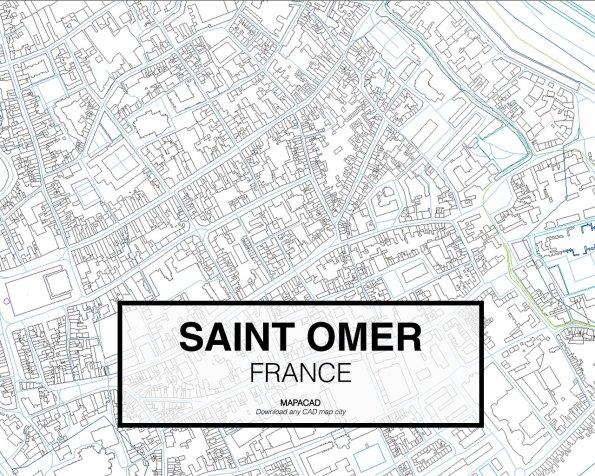 Saint-Omer-France-03-Mapacad-download-map-cad-dwg-dxf-autocad-free-2d-3d