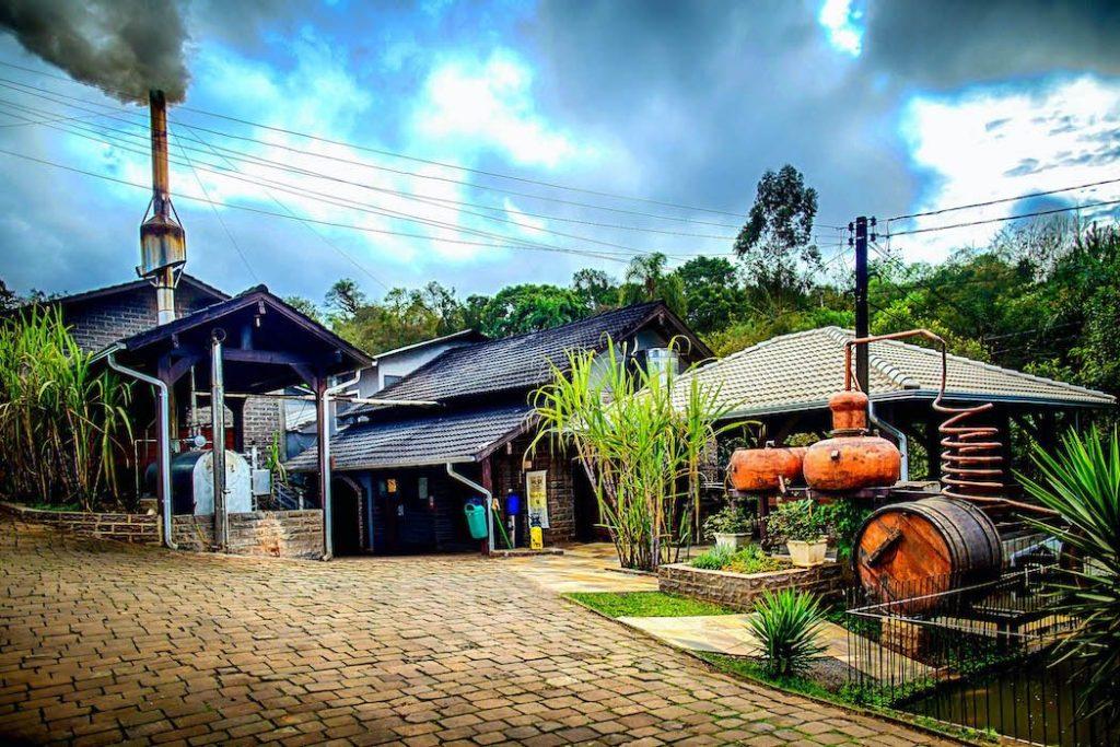 Destilaria da Weber Haus em Ivoti no Rio Grande do Sul