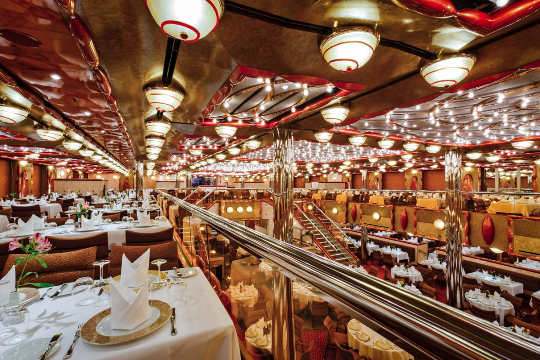 Restaurante Duca D'Orleans no Costa Favolosa - Fonte: Costa Cruzeiros