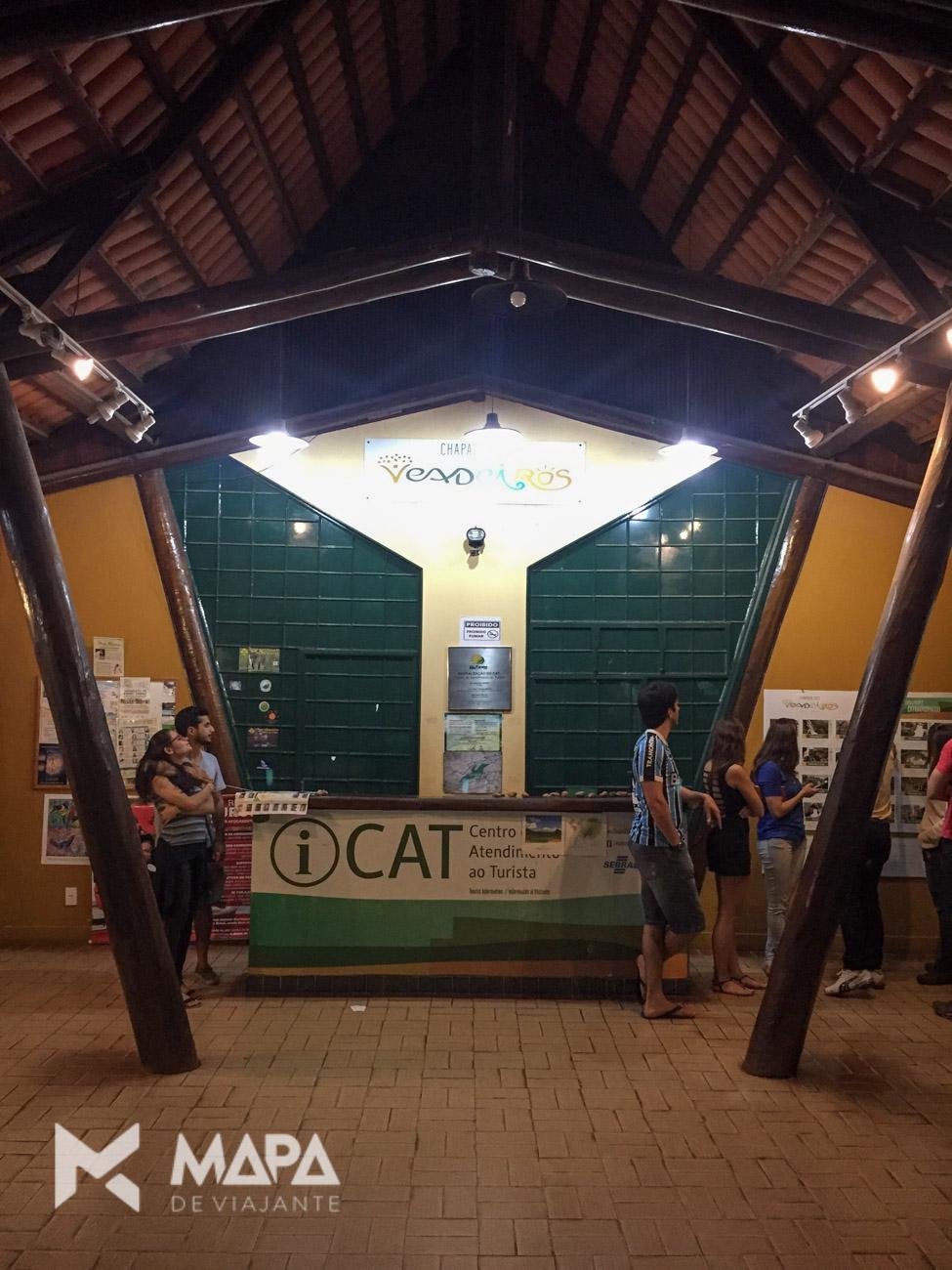 Centro de Atendimento ao Turista em Alto Paraíso