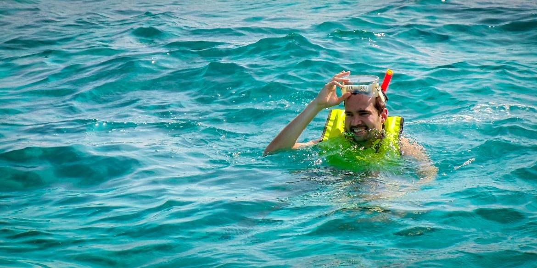 Snorkel em Key West em 2014