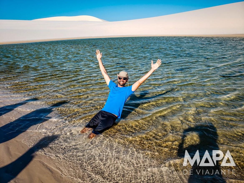 Areia Movediça nas Lagoas das Emendadas