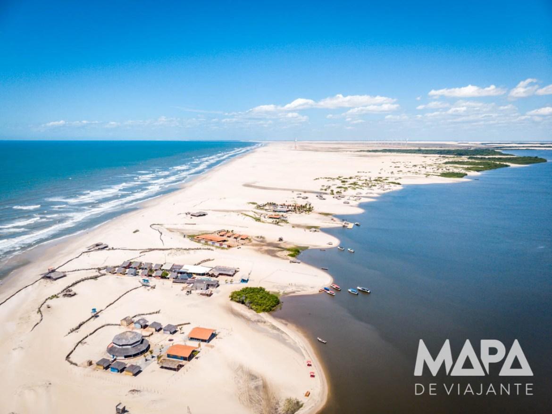 Praia de Caburé Rio Preguiças