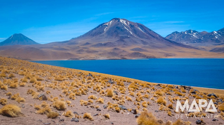 Mapa de Viajante Deserto do Atacama Lagoa Miscanti onde viajar outubro