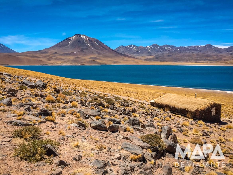 Mapa de Viajante Deserto do Atacama Lagoa Miscanti
