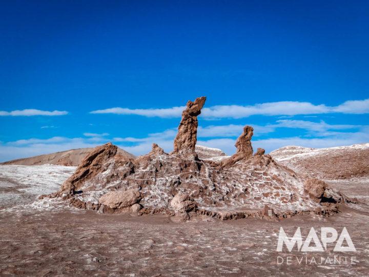 Três Marias Vale da Lua Deserto Chile