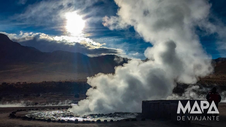 Gêiseres de Tatio Deserto do Atacama