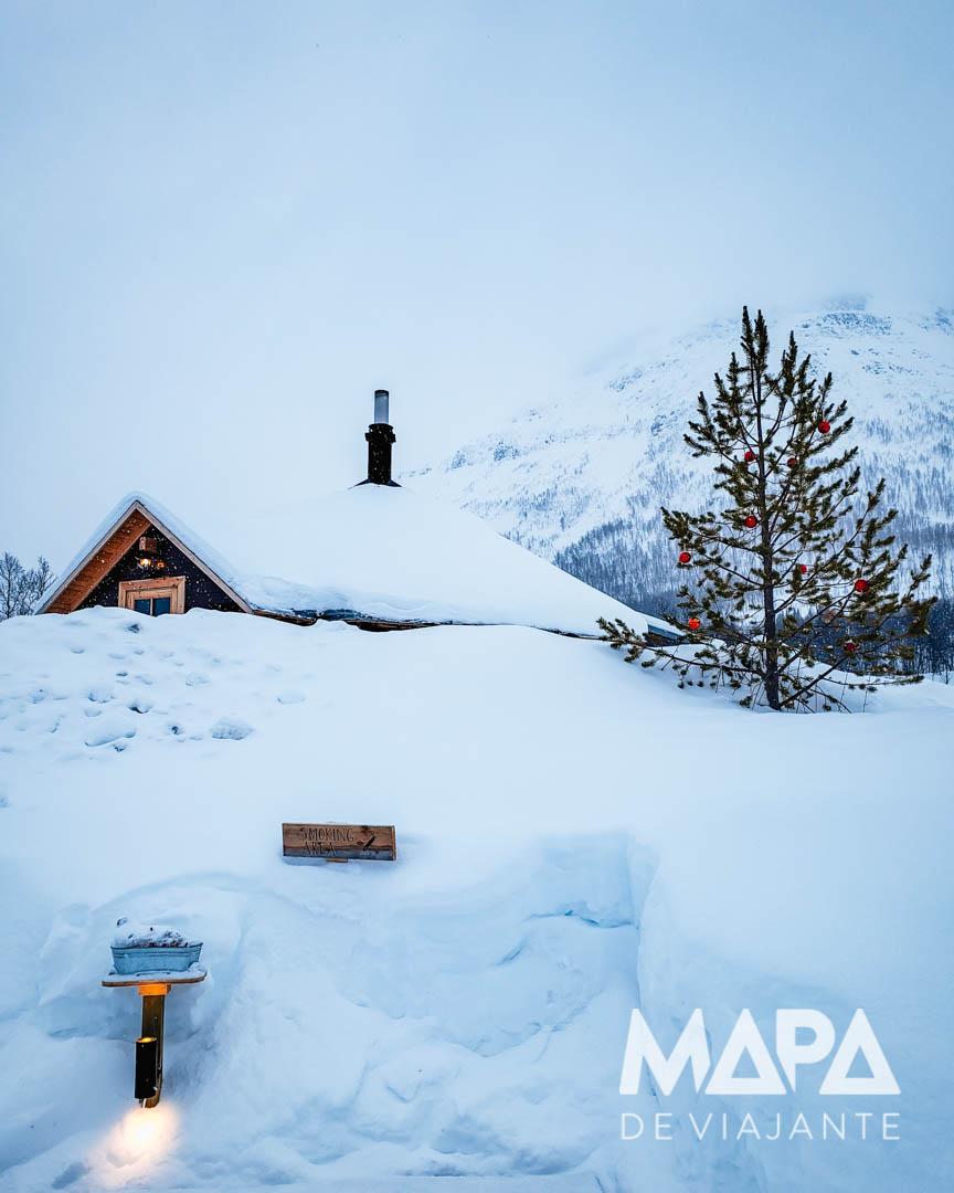 Ice Dome Hotel de Gelo Tromso Noruega