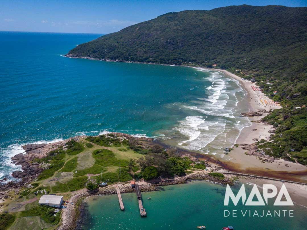 Praia do Matadeiro / Floripa onde viajar janeiro