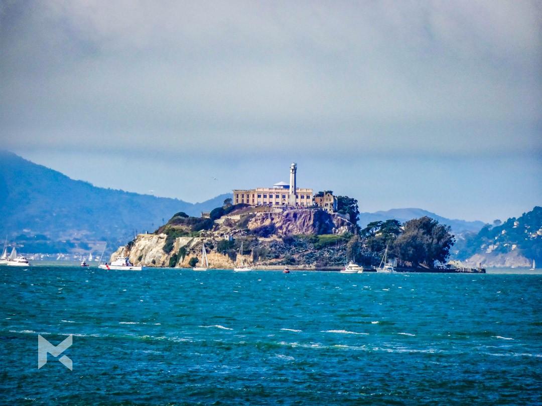 Ilha Prisão Alcatraz São Francisco Califórnia