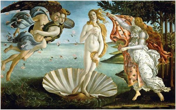 o nascimento de vênus