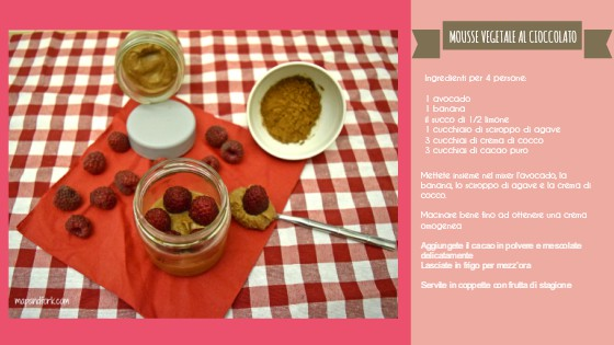 mousse vegetale al cioccolato IT