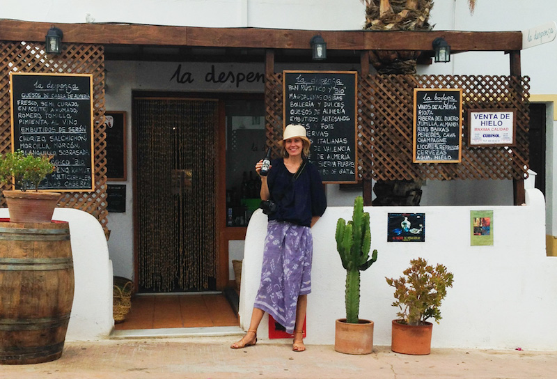 In Cabo de Gata this is a travel Image of Map and Muse at La Despensa in Rodalquilar Spain