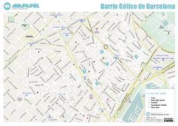 mapapel barcelona