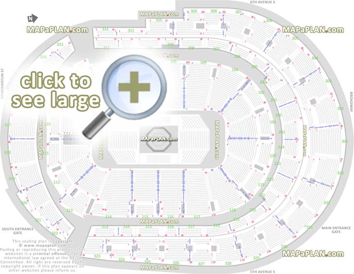 Oracle Arena Map Seating Chart