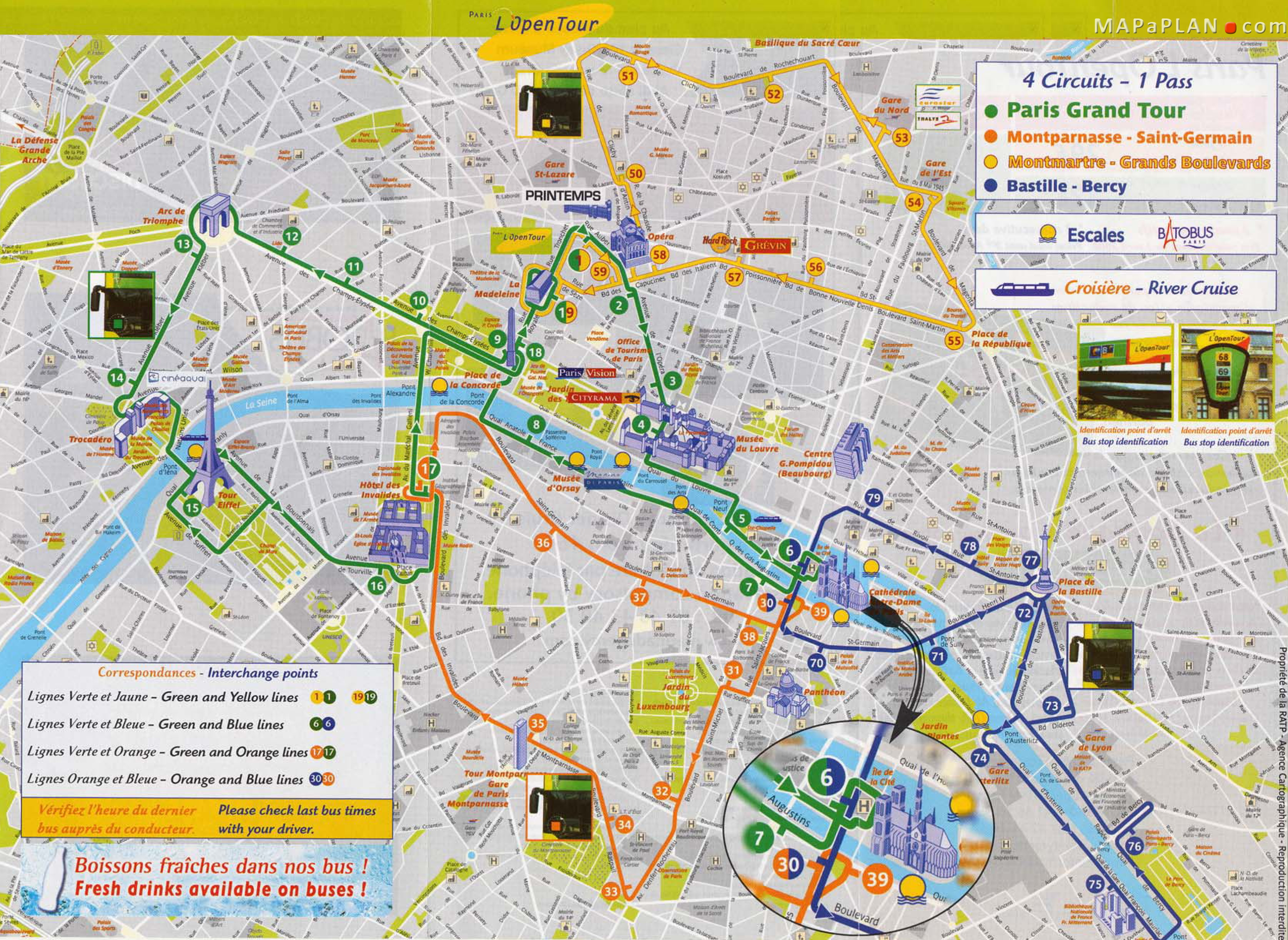 Map Of Major Attractions In Paris France a map of the top tourist – Tourist Attractions Map In Paris