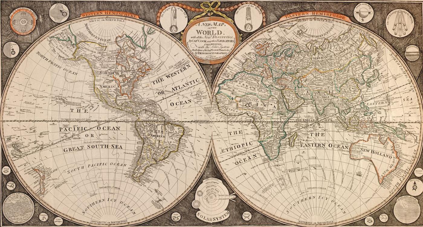 Resultado de imagem para Mapa do mundo antigo