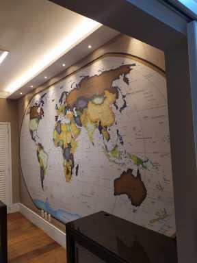 Mapa Mundi Gigante National Geographic