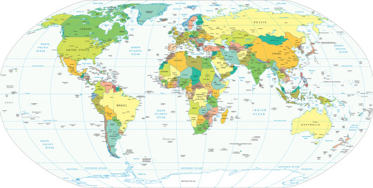 Papel de Parede Mapa Mundi Politico