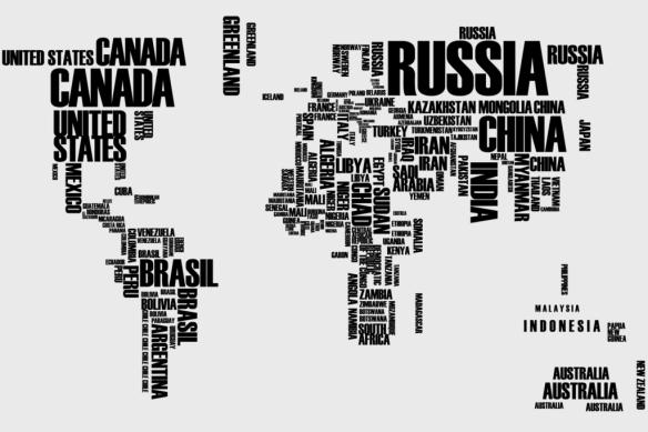 Mapa Mundi letras