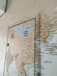 Papel de Parede Mapa Mundi sob medida - Foto 6 - Detalhe