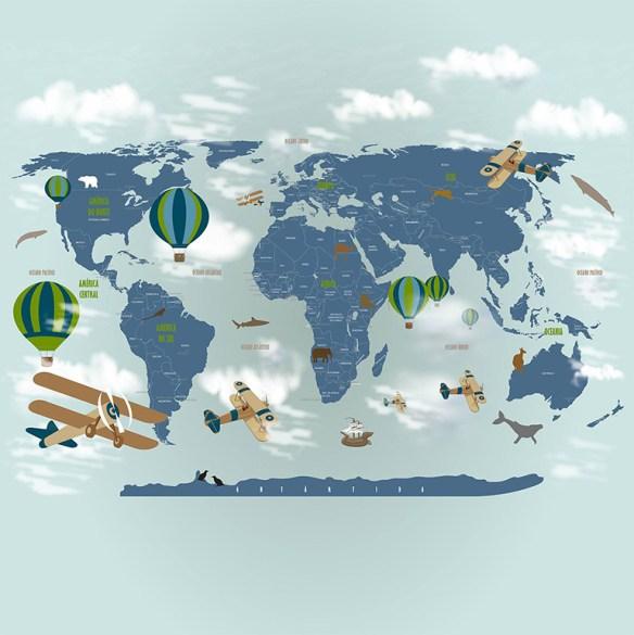 papel de parede mapa mundi