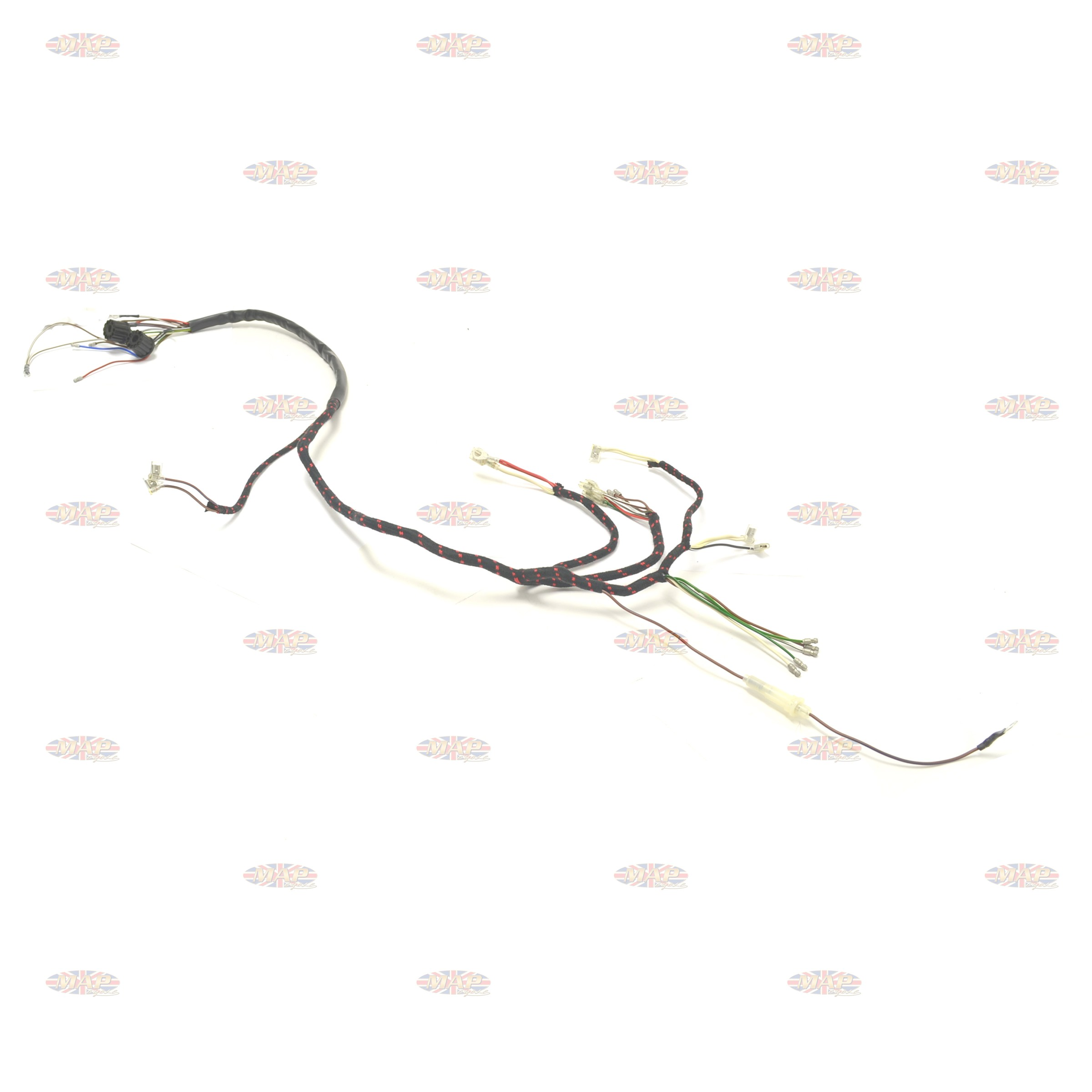 Bsa 67 A50 A65 Uk Made 12 Volt Wiring Harness