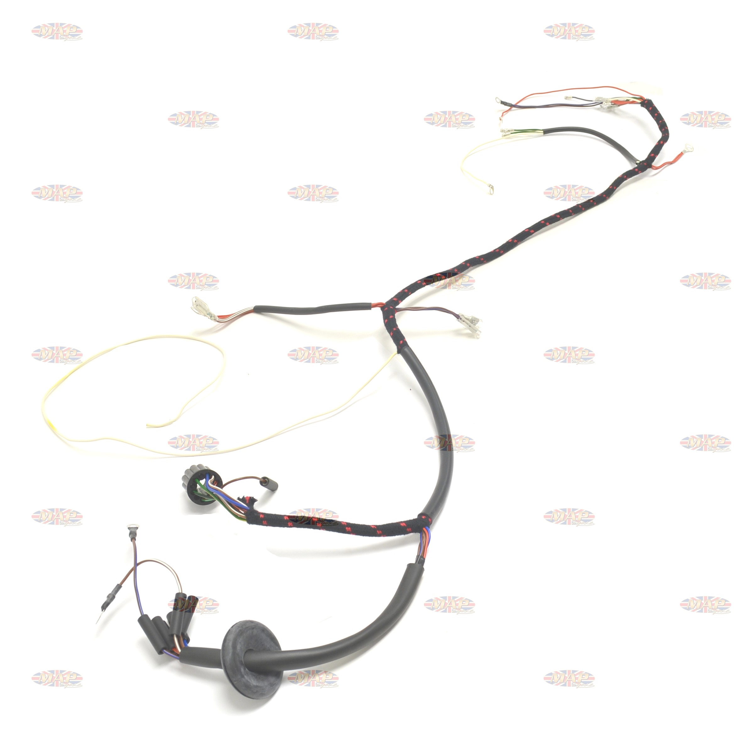 Norton 67 650ss 750 Atlas Uk Made 12 Volt Wiring Harness